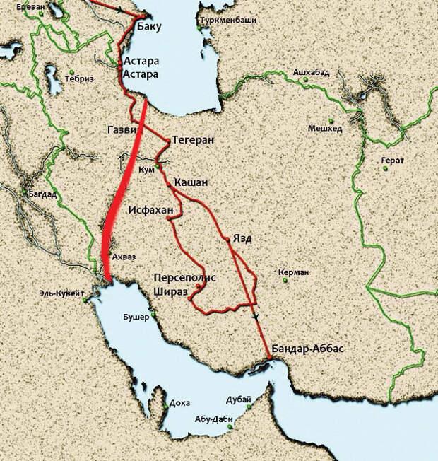 Российско-иранский канал может обеспечить евроазиатские перевозки кратчайшим путем