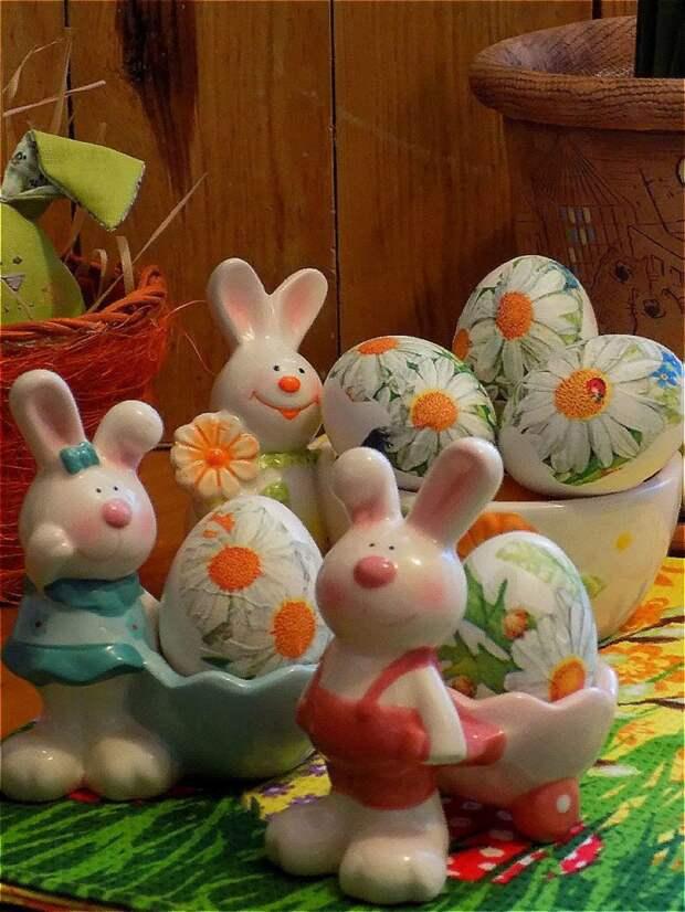 """Яйца в стиле """"декупаж""""  #пасха2021"""