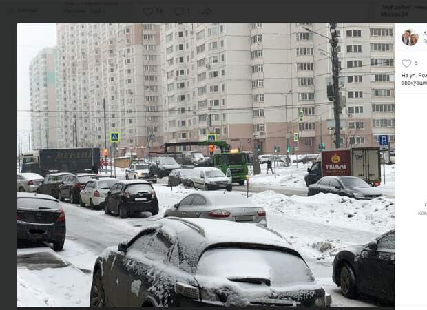 Очередную машину на Рождественской забрали на штрафстоянку