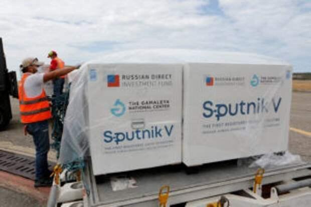 Турция получила первую партию российской вакцины «Спутник V»