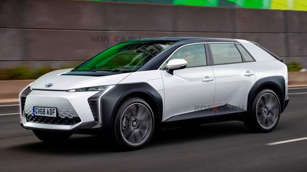 Toyota готовится к выпуску нового компактного кроссовера: первое изображение