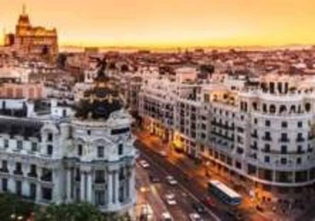 Центр Мадрида закроют для туристов