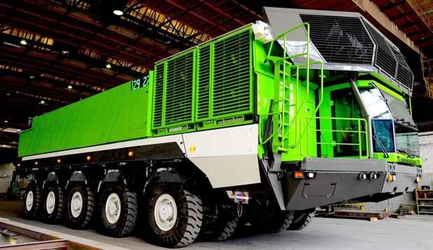 Построенный экземпляр грузовика ETF