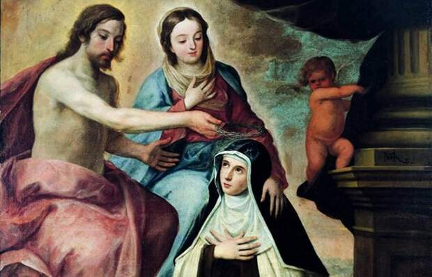 Святая Мария Магдалина Де`Пацци.