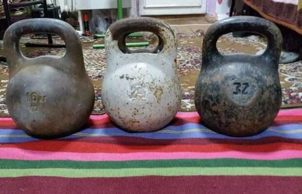 От 16 до 32 кг: почему гири для физических упражнений весят именно столько