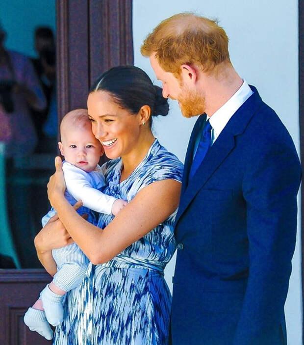 У Меган Маркл и принца Гарри родилась дочь