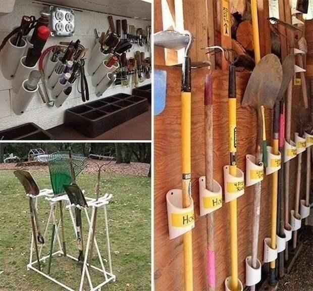 Пластиковые трубы на даче: удачные идеи на все случаи жизни
