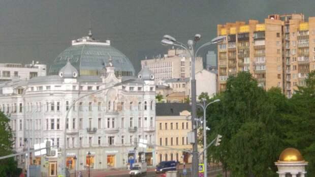 Желтый уровень погодной опасности объявлен в Москве на выходные