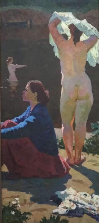 Обнаженная натура в изобразительном искусстве разных стран. Часть 161.