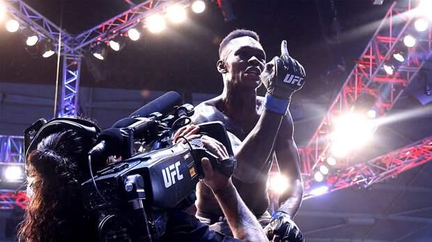 ВUFC новая суперзвезда. Адесанья стал чемпионом за1,5 года исобрал насвой бой 57 тысяч человек