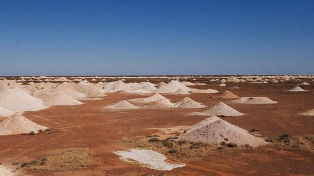Кубер-Педи: загадочный город под землей, расположенный в Австралии