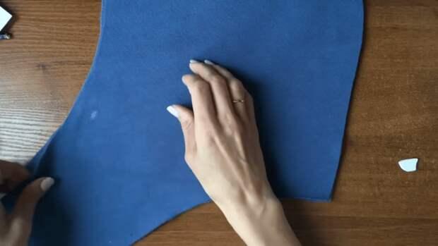 Простой способ сделать отверстия под шнурки для худи без люверсов и каких-либо приспособлений