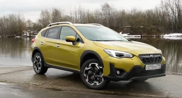 Первый тест-драйв обновлённого кроссовера Subaru XV показали на видео