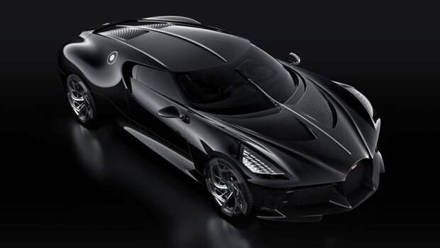 Дебют уникального гиперкара Bugatti La Voiture Noire состоится 31 мая