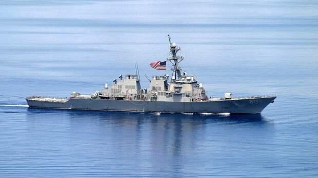 Корабль ВМС США зашел в морской порт Одессы после учений в Черном море
