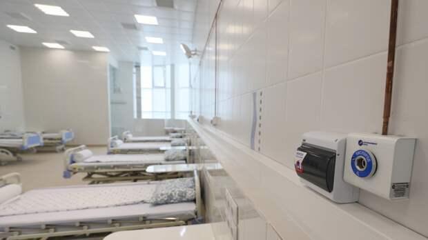 Дополнительные койки для пациентов с COVID-19 появятся в Петербурге