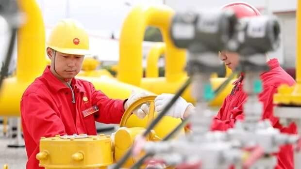 Крупные залежи газа нашли наюго-западе Китая