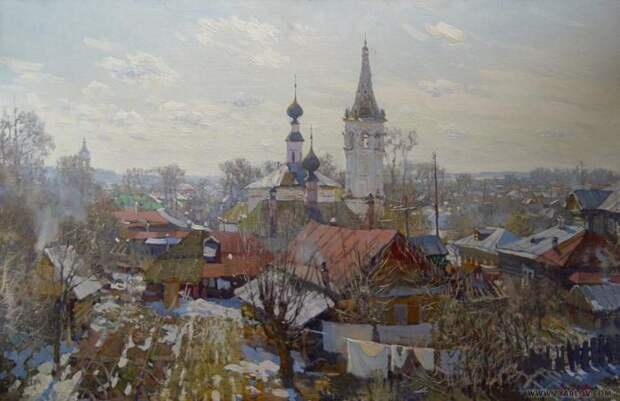 Художник Ярослав Зяблов. Манящая русская природа