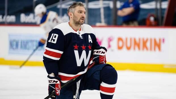 Овечкин провел полную тренировку с «Вашингтоном» перед последней игрой регулярного чемпионата НХЛ