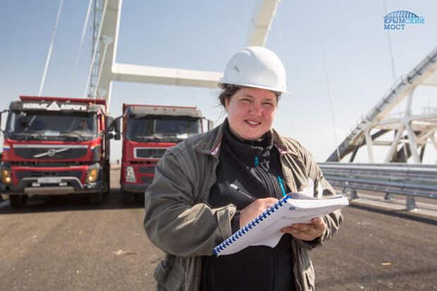 Автодорожная часть Крымского моста готова к работе. К майским успевают?