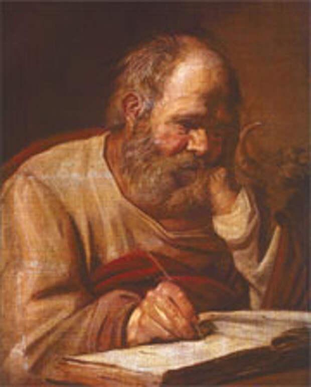 БЕСЦЕННОЕ ПОЛОТНО ФРАНСА ХАЛЬСА «ЕВАНГЕЛИСТ ЛУКА»