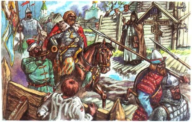 25 апреля 1433 года состоялась битва на Клязьме