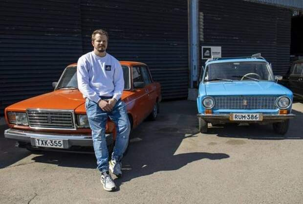 В Финляндии начали сдавать напрокат старые «Жигули»