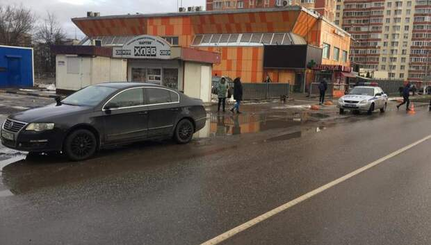 В Подольске 26‑летняя автолюбительница сбила мужчину