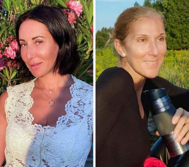 Звезды: Алика Смехова и Селин Дион