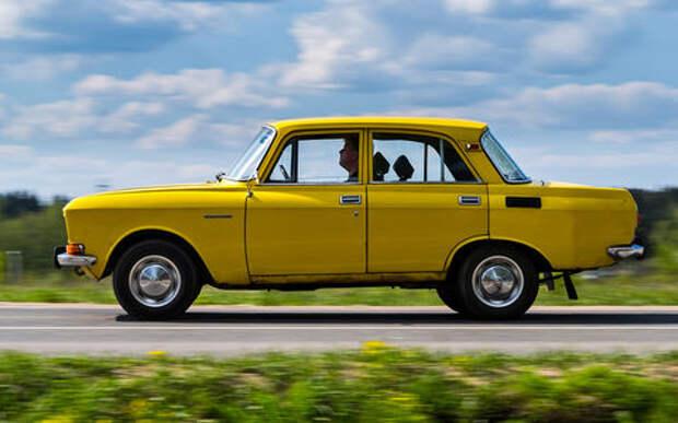 Машины нашего детства – ретротест Москвича-2140