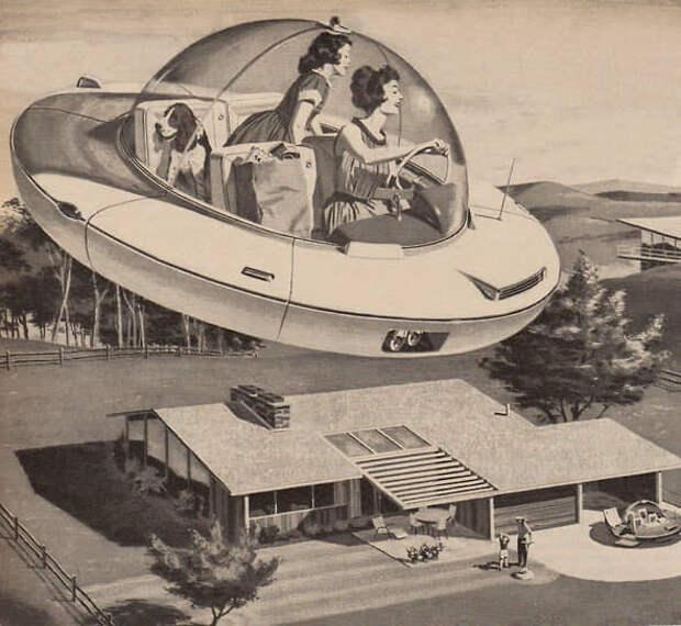 Еще в середине двадцатого века создание летающего транспорта казалось делом нескольких десятилетий