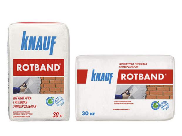 Технические характеристики и особенности штукатурной смеси Knauf Rotband