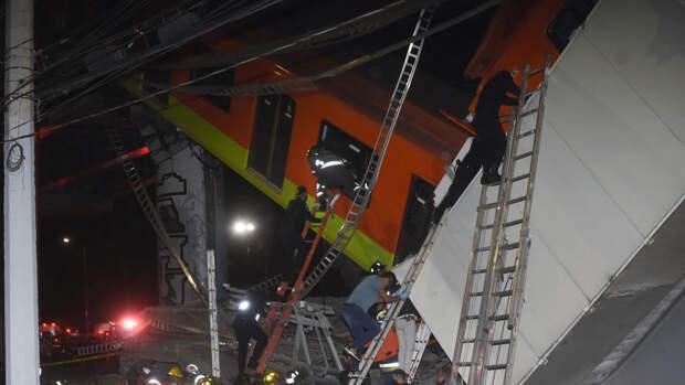 Мексика объявила трехдневный траур по погибшим при обрушении метромоста