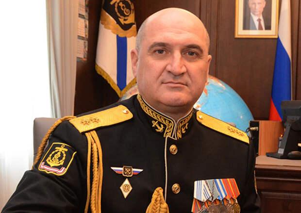 Командующий Черноморским флотом вице-адмирал Игорь Осипов поздравил ветеранов Великой Отечественной войны с Днём Великой Победы