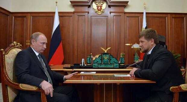 Кадыров оценил возможность занять место Путина