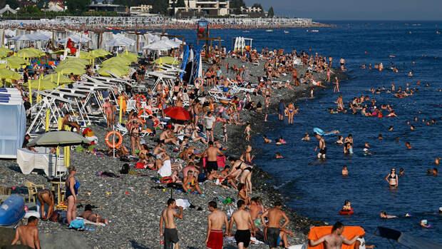 Ростуризм предупредил о максимальной загрузке курортов на Черном море