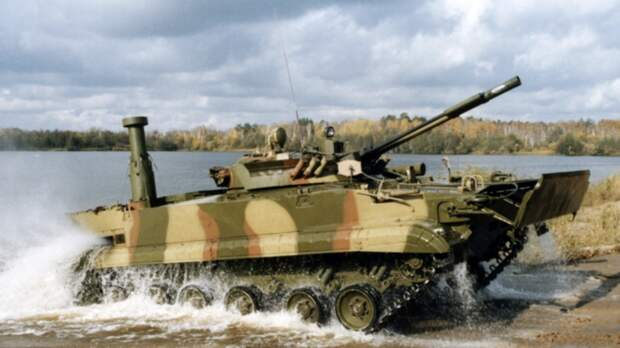 Морская пехота ТОФ получила новые плавающие БМП-3Ф