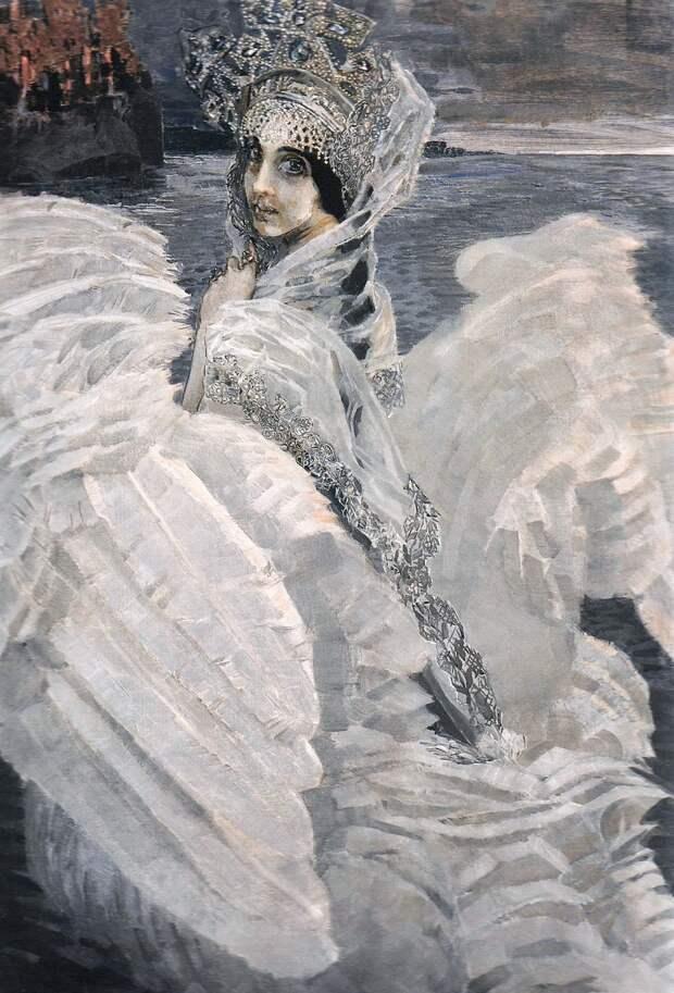 Михаил Врубель «Царевна-Лебедь» 1900Хранится в Государственной Третьяковской галерее