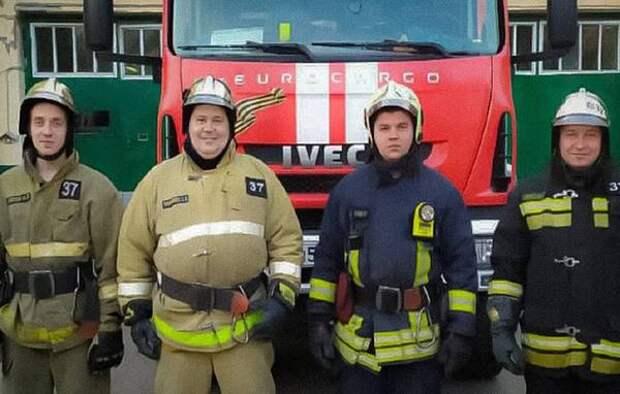 Упавшую с моста девушку спасли огнеборцы 37 пожарно-спасательной части