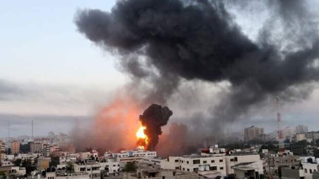 Израиль 16мая продолжил атаки полидерам ХАМАС