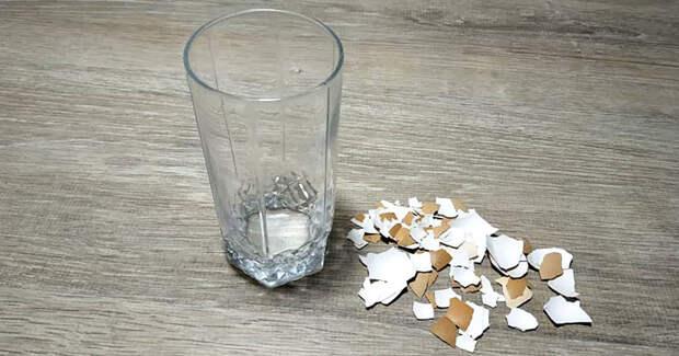 Простой стакан и яичная скорлупа — красивый декор своими руками
