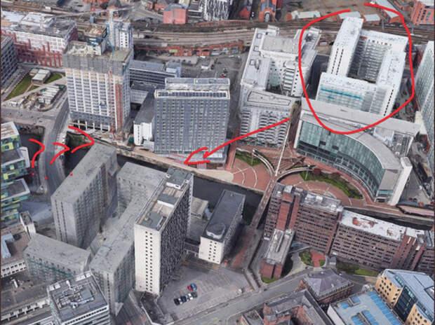 Пользователь Google Maps нашел в Великобритании отель-призрак