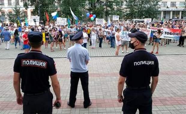 Хабаровск: Началась зачистка