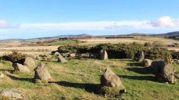 каменный круг в Алфорде