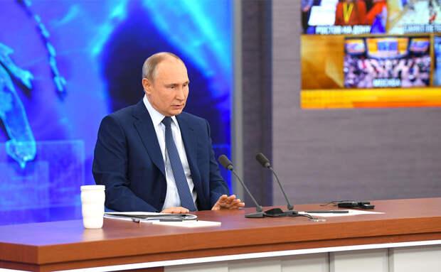 Путин назвал расследования о своих близких местью спецслужб США