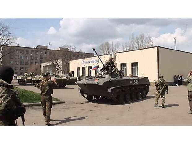 Кто начал гражданскую войну на Донбассе