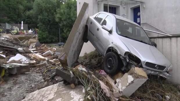 Масштаб стихийного бедствия в Европе. Репортаж из центра событий