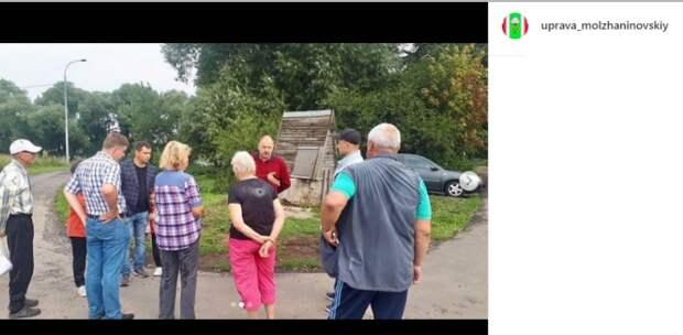 В Молжаниновском провели субботний обход