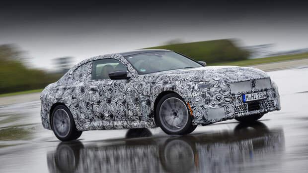 Купе BMW второй серии будет рассекречено этим летом