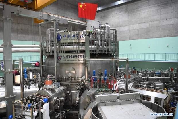 Китайский токамак установил новый рекорд по времени удержания плазмы
